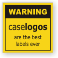 Caselogos makes all types of OEM, industrial and commercial labels and decals