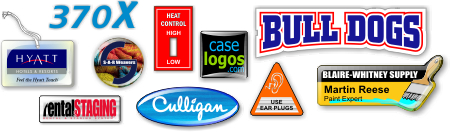Casleogos manufactures domed decals, industrial decals and commercial labels for branding