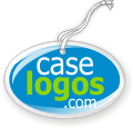 Caselogos double sided domed hang tags, coasters, tokens, ornaments