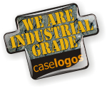 Caselogos domed decals are industrial grade