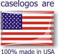 Caselogos are 100% Made in USA